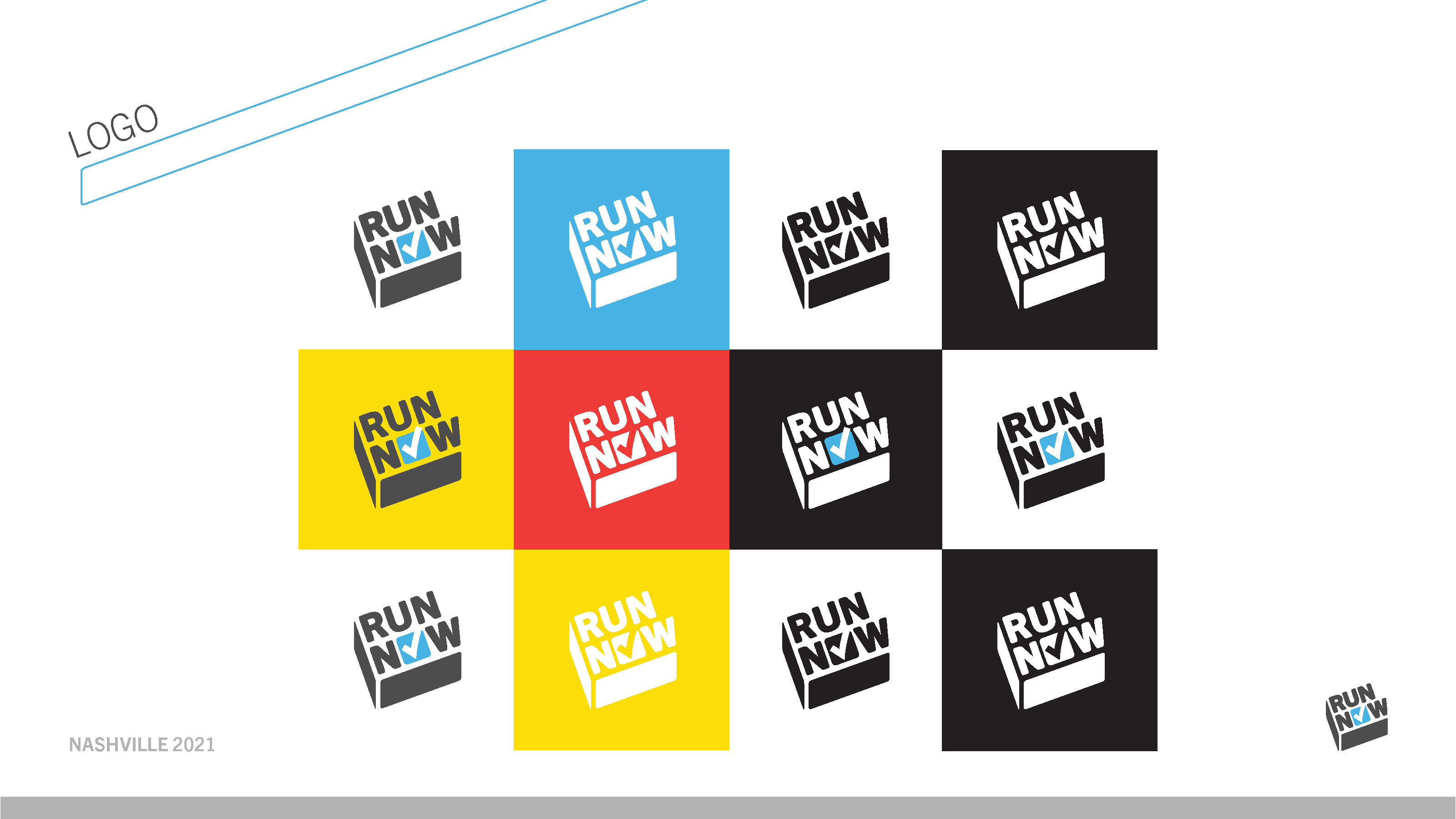 Run Now logo